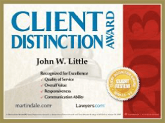 Client distinction award 2013