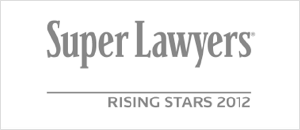 Super Lawyers Rising star 2012